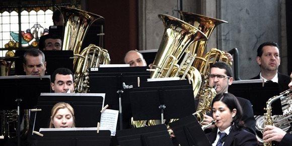 3. La Banda de Música de Bilbao interpretará este martes el concierto de Carnaval en la Plaza Nueva