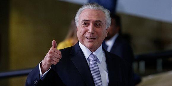 6. La Policía de Brasil no encuentra pruebas contra Temer en el marco de una pesquisa sobre corrupción
