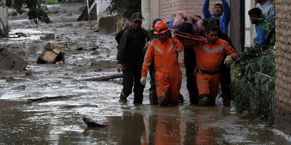 2. Al menos tres muertos y cinco desaparecidos por las fuertes lluvias en Bolivia