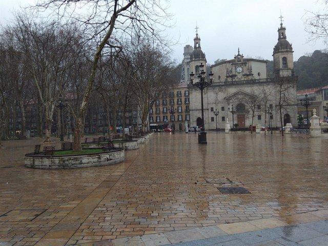LLuvia y frío en Euskadi