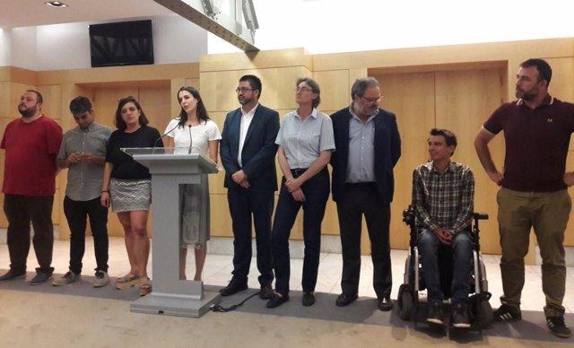 Concejales de Ahora Madrid