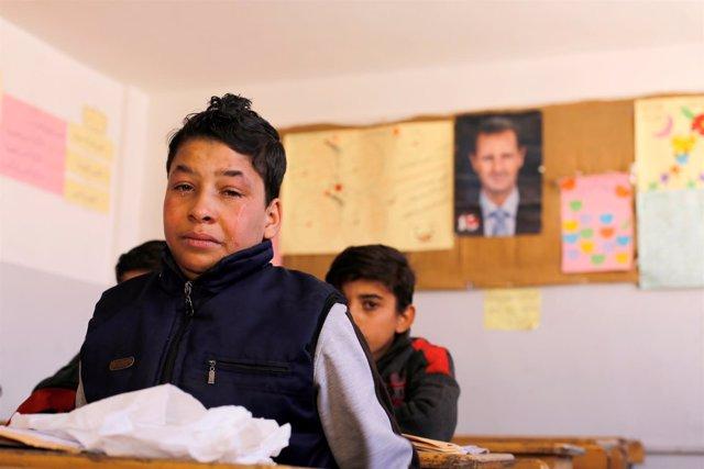 UNICEF escolariza de urgencia a millones de niños sirios