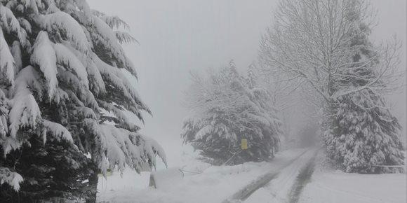 9. Cerrados por nieve los puertos de Orduña y Herrera