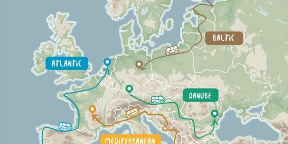 7. La Comisión Europea crea el programa 'Road Trip Project' para descubrir Europa en furgoneta