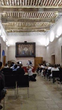 Visita al Castillo Palacio del Papa Luna en Illuec