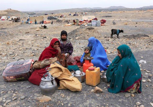 Desplazados internos en Afganistán