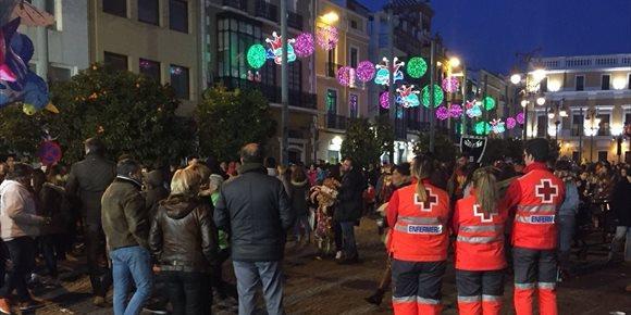 6. Catorce personas atendidas en la primera noche del Carnaval de Badajoz, seis de ellas derivadas al hospital