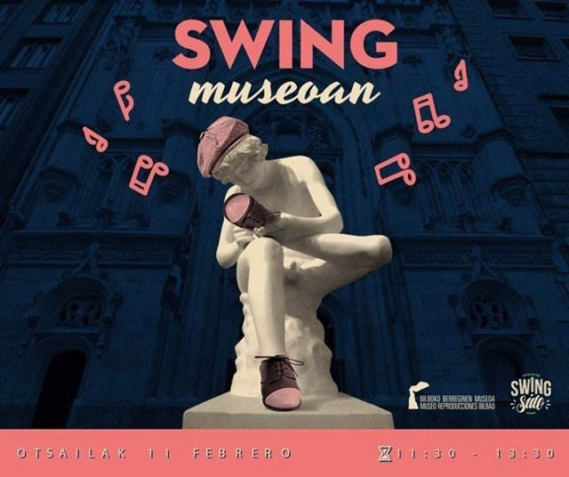 Cartel del ciclo Swing Museoan