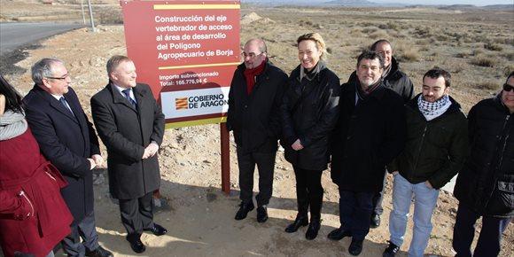 5. Ocho municipios aragoneses mejoran sus infraestructuras industriales gracias al Fondo Local 2017
