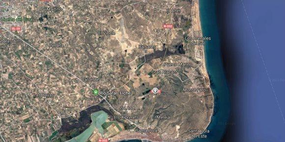 7. Muere un motorista de 44 años al impactar contra un coche en Santa Pola (Alicante)