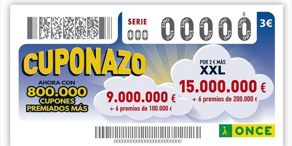 6. El Cuponazo de la ONCE deja más de 11 millones de euros en Betxí (Castellón)
