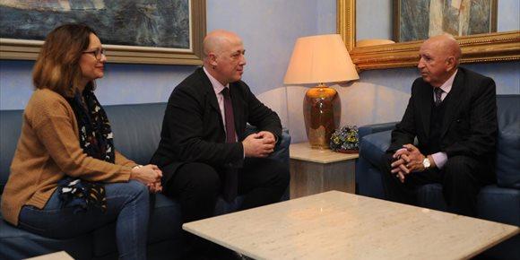 5. El cónsul honorífico de Costa de Marfil agradece a Diputación de Córdoba su colaboración con el país