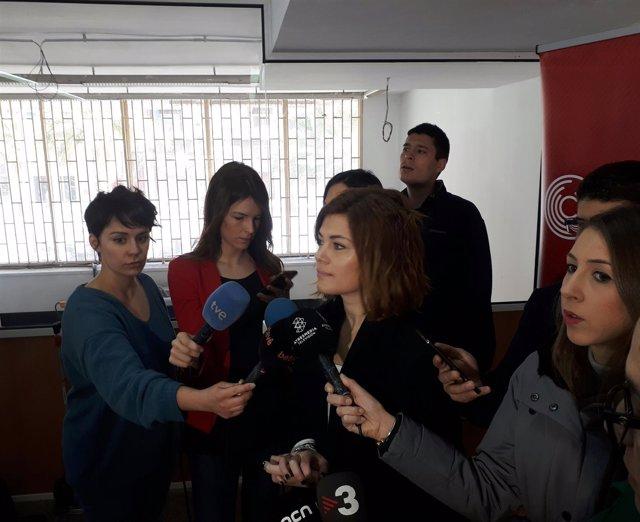 La diputada electa de CatECP en el Parlament Elisenda Alamany
