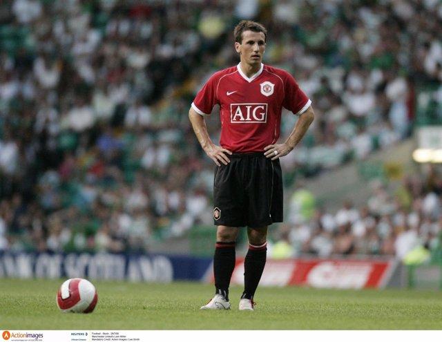 Liam Miller, exjugador de Celtic y Manchester United