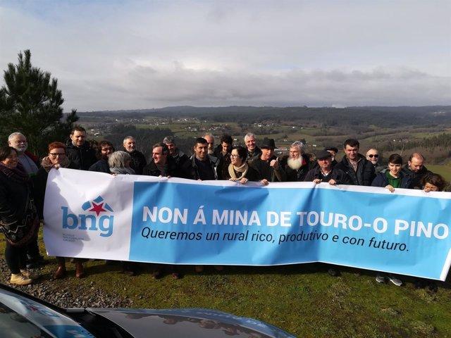 """A mina de Touro e O Pino que """" favorece o PPdeG e Goberno de Feijóo"""" ameaza o medio de vida de máis de 200 granxas de vacún cunha cabana gandeira de 5.000 reses"""