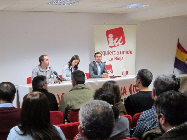 Alberto Garzón En Logroño