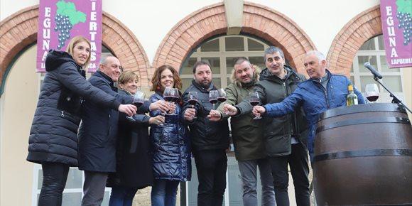 1. Los vinos de Rioja Alavesa con D.O. son casi la mitad de la exportación vitivinícola vasca