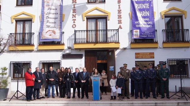Acto en recuerdo de Domingo Puente y las víctimas del terrorismo