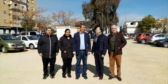 6. PP urge la construcción de un centro deportivo y un aparcamiento subterráneo en el Barrio de Santa Aurelia de Sevilla