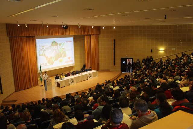 Antonio Maíllo ante las asambleas locales de IU Andalucía