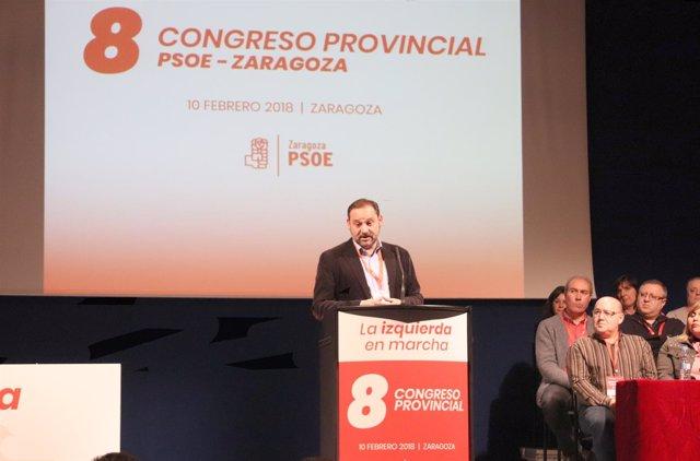 El secretario de Organización del PSOE, José Luis Ábalos.