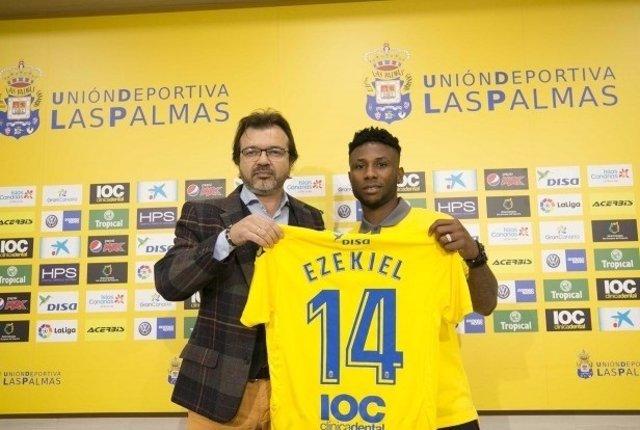 Ezekiel ficha por Las Palmas