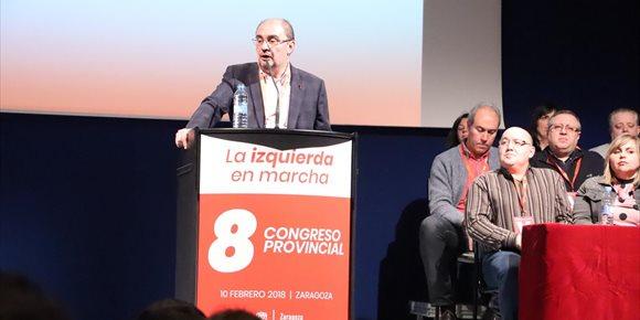 9. Lambán señala que tras el proceso de renovación del PSOE hay que preparar las elecciones autonómicas de 2019