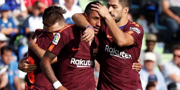 8. El Barça recibe al Getafe con la defensa en cuadro