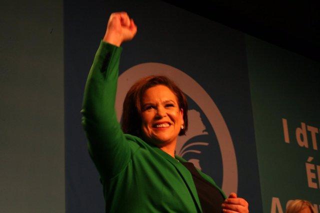 La nueva presidenta del Sinn Féin