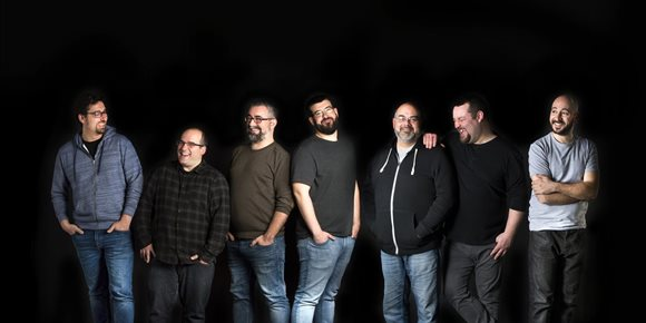 3. La banda folk Tiruleque presenta el próximo sábado en Santiago su tercer disco, 'Outro que tal baila'
