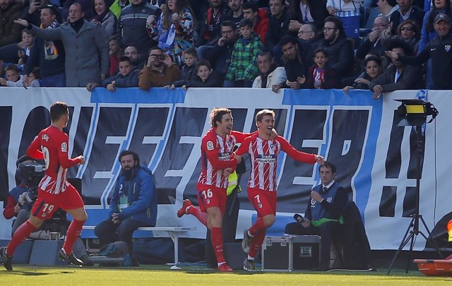 Málaga - Atlético de Madrid, Griezmann