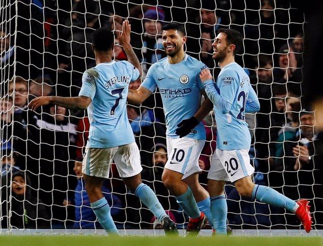 Agüero golea con el Manchester City