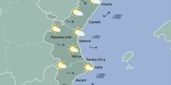 5. Suben las máximas hasta 20 grados en València