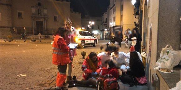 4. Veinte personas atendidas durante el sábado en el Carnaval de Badajoz, cuatro de ellas derivadas al hospital