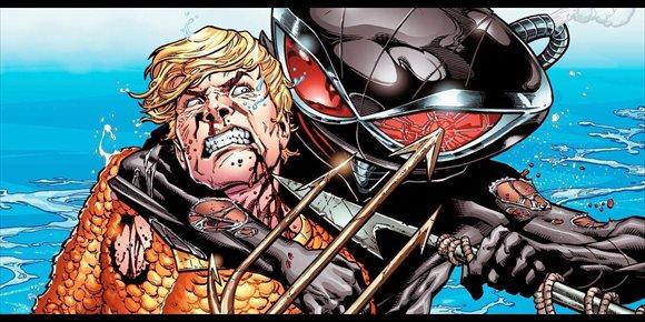 3. Aquaman: James Wan se ríe del casco de Manta Negra