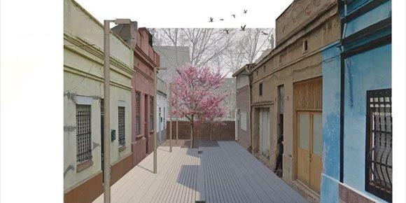 4. Barcelona convertirá en zona de peatones tres pasajes del distrito de Sant Martí
