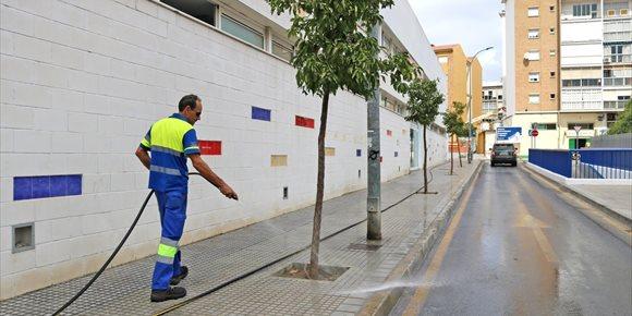 9. El Ayuntamiento de Málaga saca a licitación la ampliación de la red de baldeo de Bailén-Miraflores por 360.000 euros