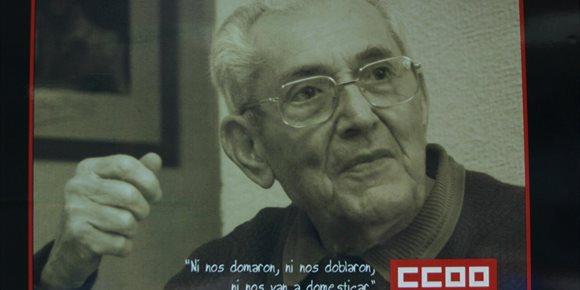 4. IU pide que la Diputación de Málaga apoye los actos de conmemoración del centenario del nacimiento de Marcelino Camacho