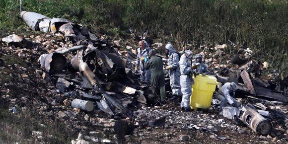 6. El F-16 fue derribado por un misil sirio SA-5 200 de fabricación rusa