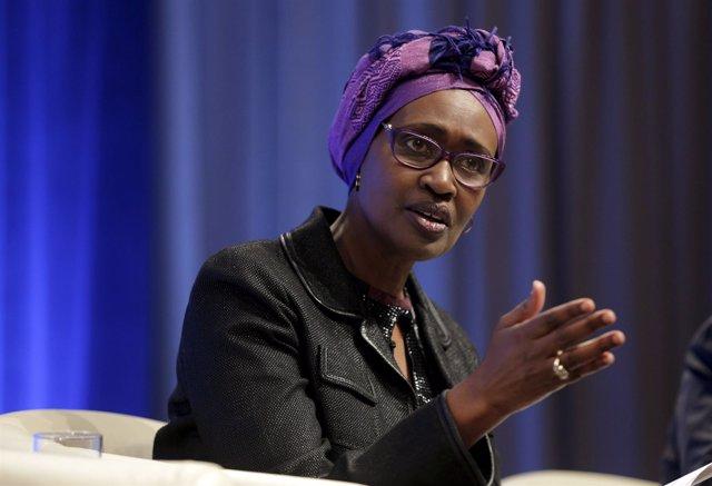 Winnie Byanyima, directora ejecutiva de Oxfam International