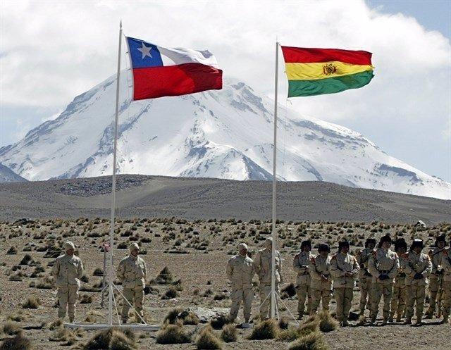 BOIVIA Y CHILE