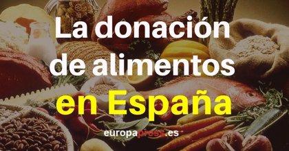 España, un gigante de la donación de alimentos entre los países que más comida desperdicia