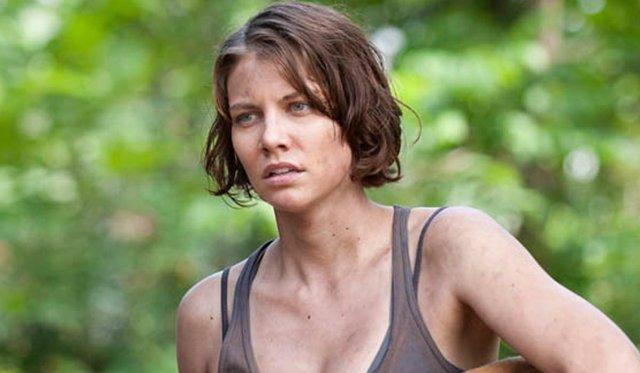Lauren Cohan en The Walking Dead