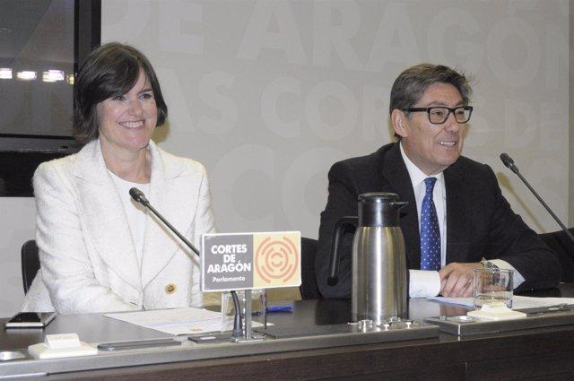 Elena Allué y Arturo Aliaga (PAR)