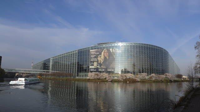 Seu del Parlament Europeu a Estrasburg.