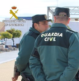 Efectivos de la Guardia Civil de Huelva