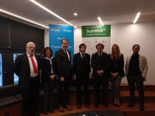 Presentación del 1r  Barcelona Global Summit: Innovation in Urban Tourism