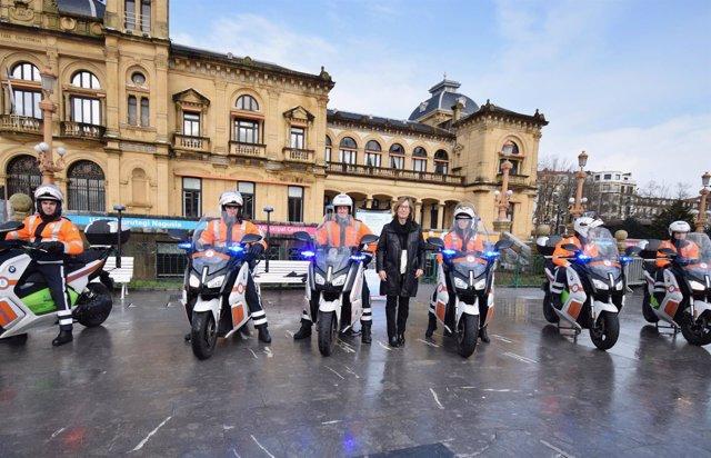 Nuevas motociclestas eléctricas.