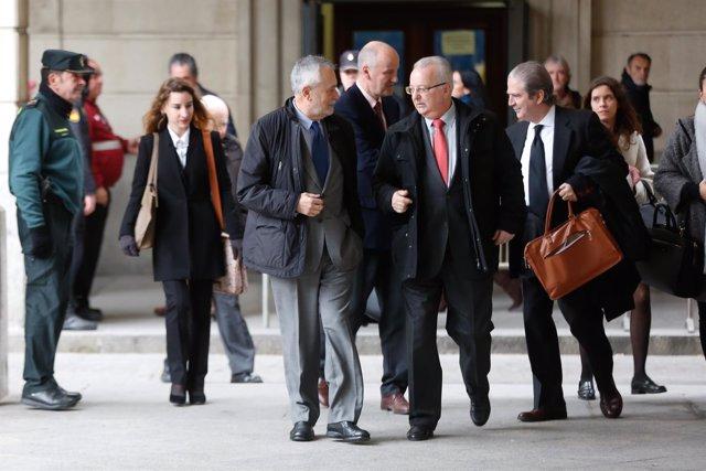 Séptima sesión del juicio por el caso de los ERE