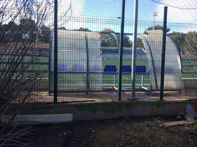 El PP de Marratxí denuncia el estado de abandono de las instalaciones deportivas de Pòrtol